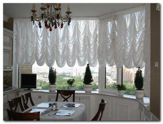 шторы на большие окна фото