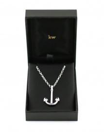 #Anchor #Pendant - A timeless piece of jewellery made from sterling silver with Karen Walker Jewellery box.