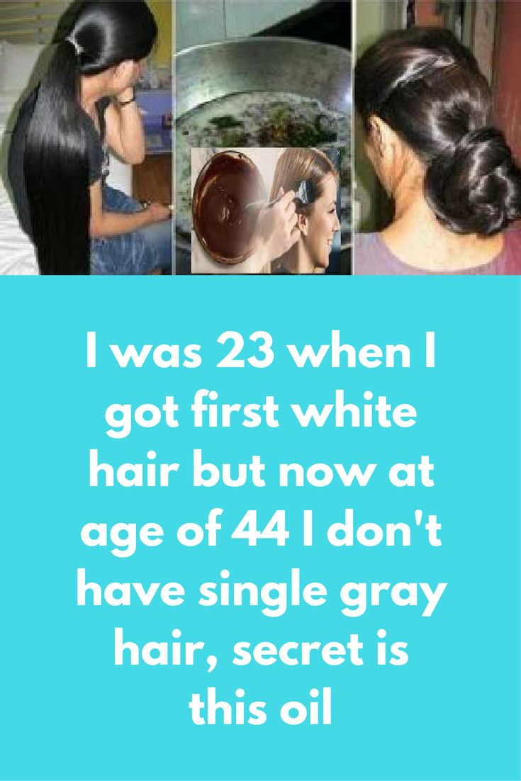 I was 23 when I got first white hair but now at age of 44 I don't have single gray hair, secret is this oil Some people who knows me they always ask what is my secret of black hair because they I have actually reversed all my white hair into black without use of any chemical I use 2 different types of oil each month on alternate basis Type 1 – Coconut oil and lemon You Will Need 2 …