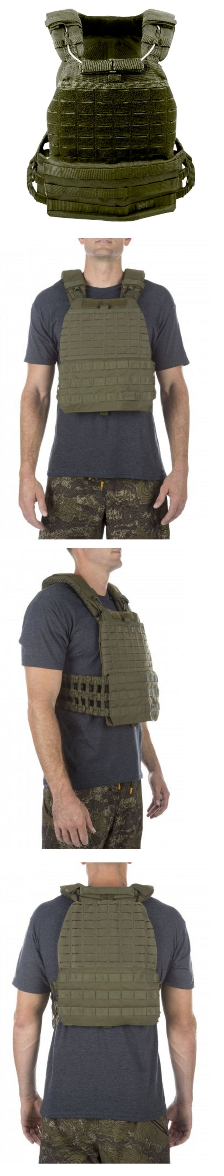 Chest Rigs and Tactical Vests 177891: 5.11 Tactical Tactec™ Plate Carrier Tac Od Crossfit Airsoft Swat Police Vest -> BUY IT NOW ONLY: $180.49 on eBay!