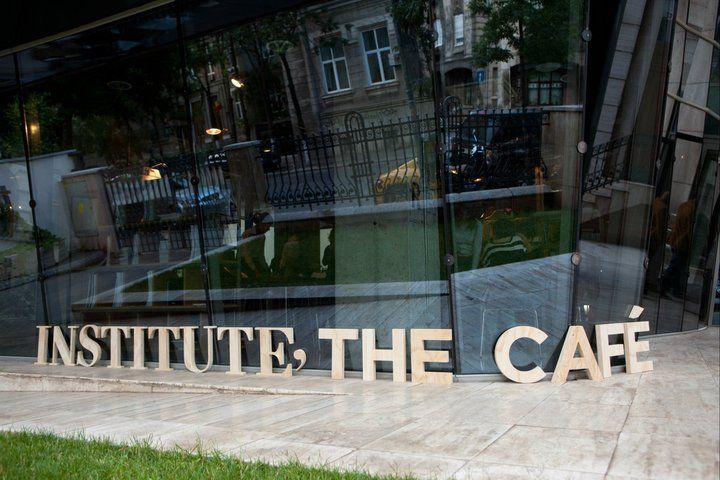 Institute, The Cafe- terasa www.facebook.com/Institute.ro