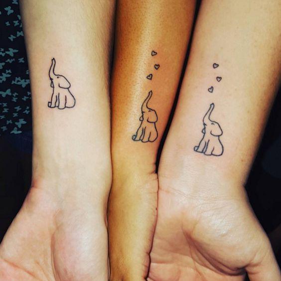 25 best sweet sister tattoos images on pinterest sister for Sister tattoos for 3