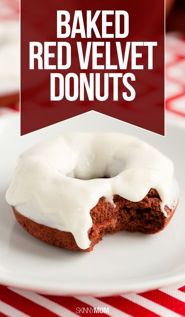 Recipe: Baked Red Velvet Donuts | Follow me, Valentines and The o'jays