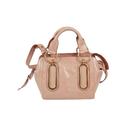 small paige tote from see by chloé: small paige tote with top handles, embossed front logo, top zip fastening, internal pocket, internal logo patch, gold-tone hardware, detachable and adjustable shoulder strap.