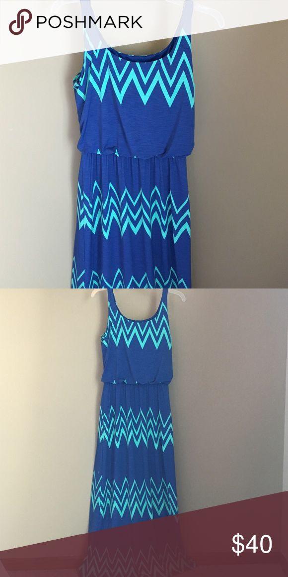 Pixley Jakobe Chevron print maxi dress EUC.   Received from Stitch Fix Pixley Dresses Maxi