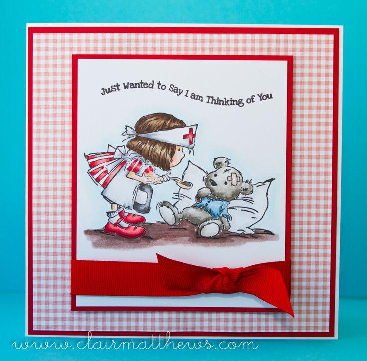 LOTV - Little Nurse with Dress Shoppe Paper Pad by Clair Matthews