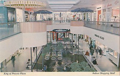 Interior View Indoor Shopping Mall King Of Prussia Plaza