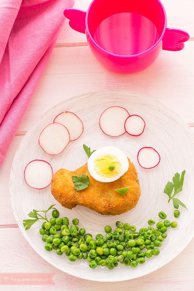 Nuggets de pescado para niños