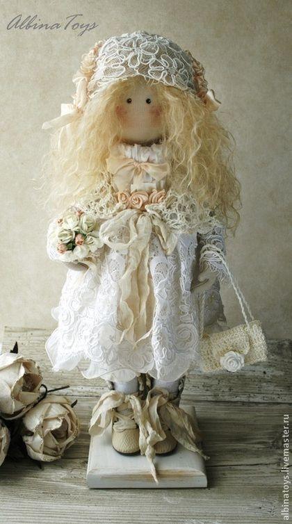 Коллекционные куклы ручной работы. Ярмарка Мастеров - ручная работа Ангел Ариель. По мотивам. Handmade.