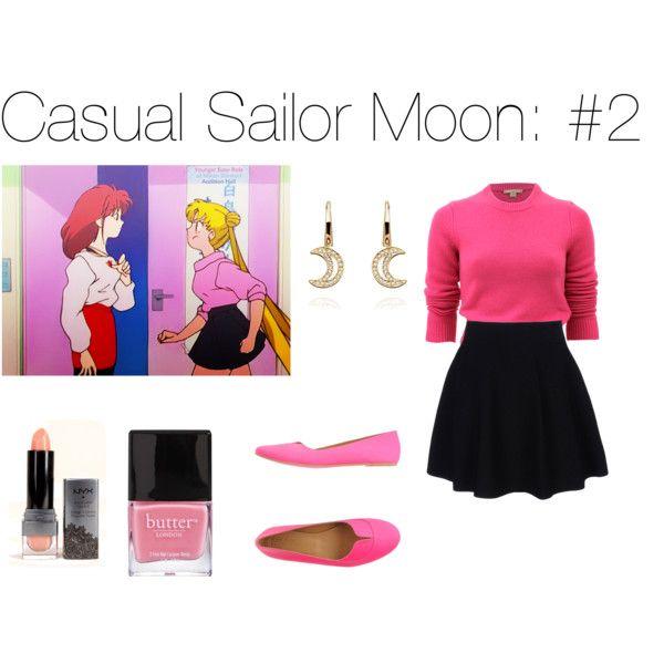"""Casual Sailor Moon: #2"" by gabbie-rakowski on Polyvore"