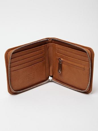 Maison Martin Margiela 11 Lamb Leather Zipper Wallet