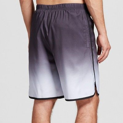Men's Swim Trunks with Jammer Ombre Black XL - Rbx