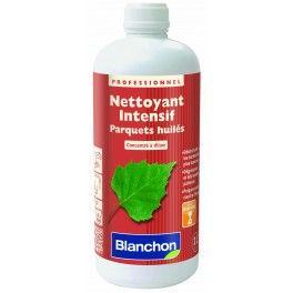 NOUVEAUTÉ Le Nettoyant Intensif de Blanchon dégraisse et nettoie en profondeur les tâches les plus tenaces sur les parquets huilés. Il permet la préparation des surfaces à une nouvelle mise en huile.