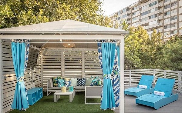 Trina Turk Adds Her Design Flair to the Poolside Cabanas at W Los Angeles   California Apparel News