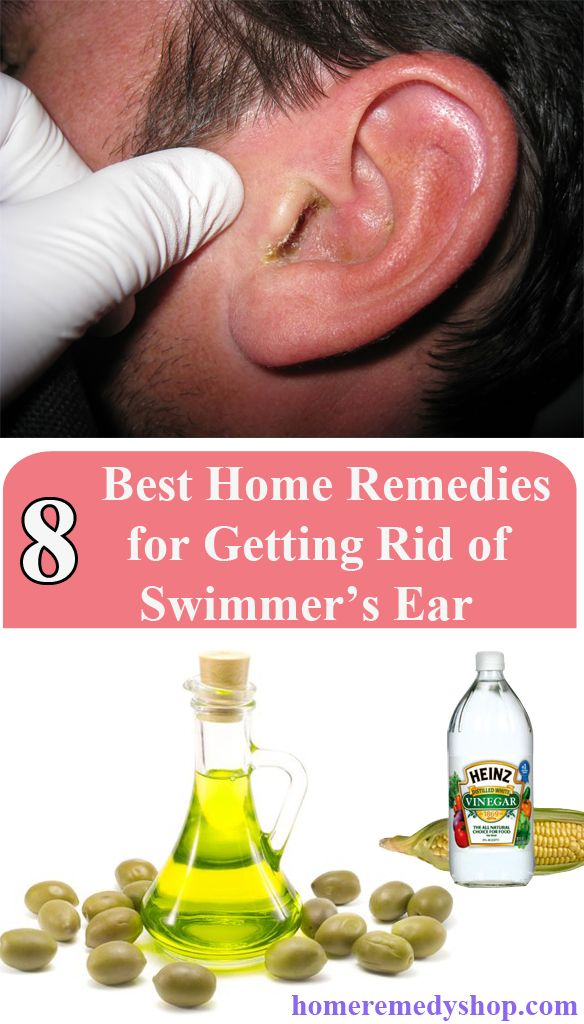 Olive oil swimmers ear