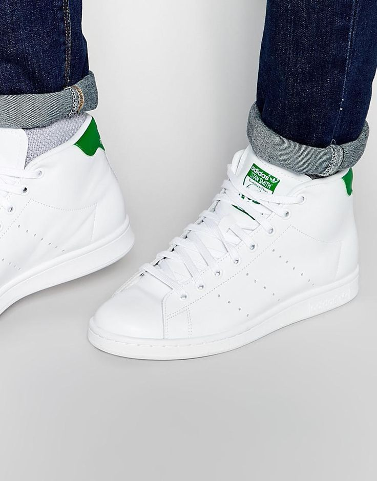 adidas Originals | adidas Originals Stan Smith Mid Trainers S75028 at ASOS