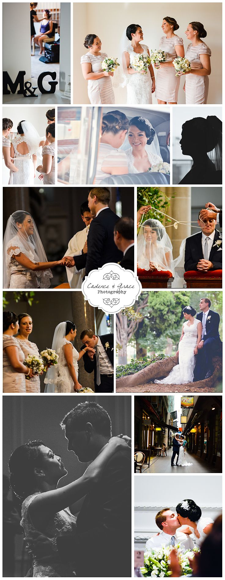 A collection of images from Mon & Greg's beautiful Melbourne wedding