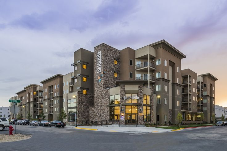 La Pointe Off Campus Student Housing in Boise, ID - Designed by Ciao Interiors