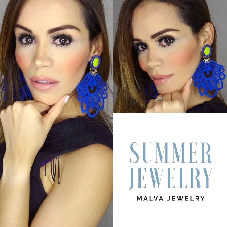 Happy Sunday! Colorful earrings are the perfect complement for your summer outfit.  Free shipping for limited time! Code: FREESHIPNOW