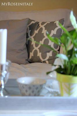Come cambiare l'aspetto di una stanza cambiando solo i cuscini - prima parte