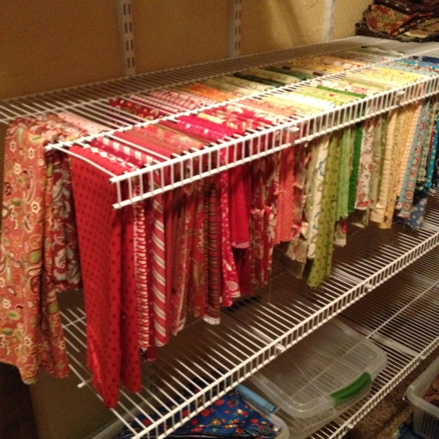 Best way ever to store and view quilting fabric. You know exactly ... : best quilting fabric - Adamdwight.com