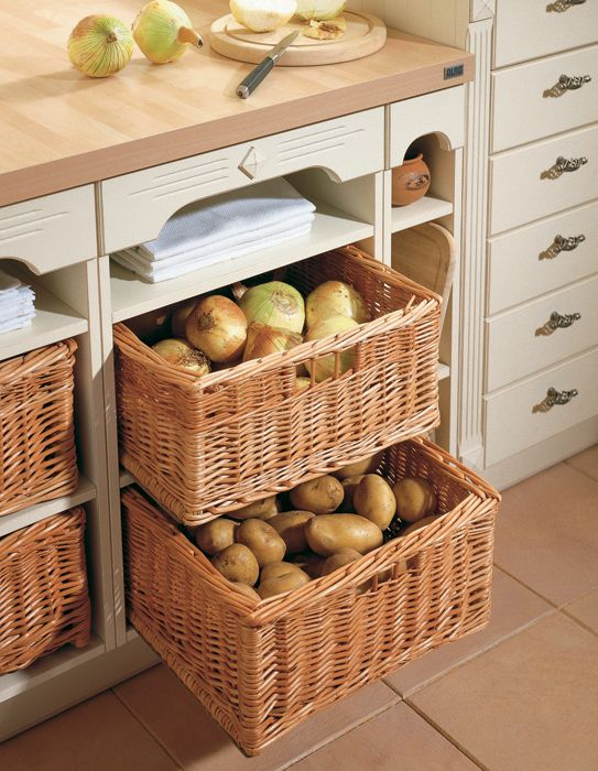 Basket Cases 13 Convenient Catchalls For Every Room