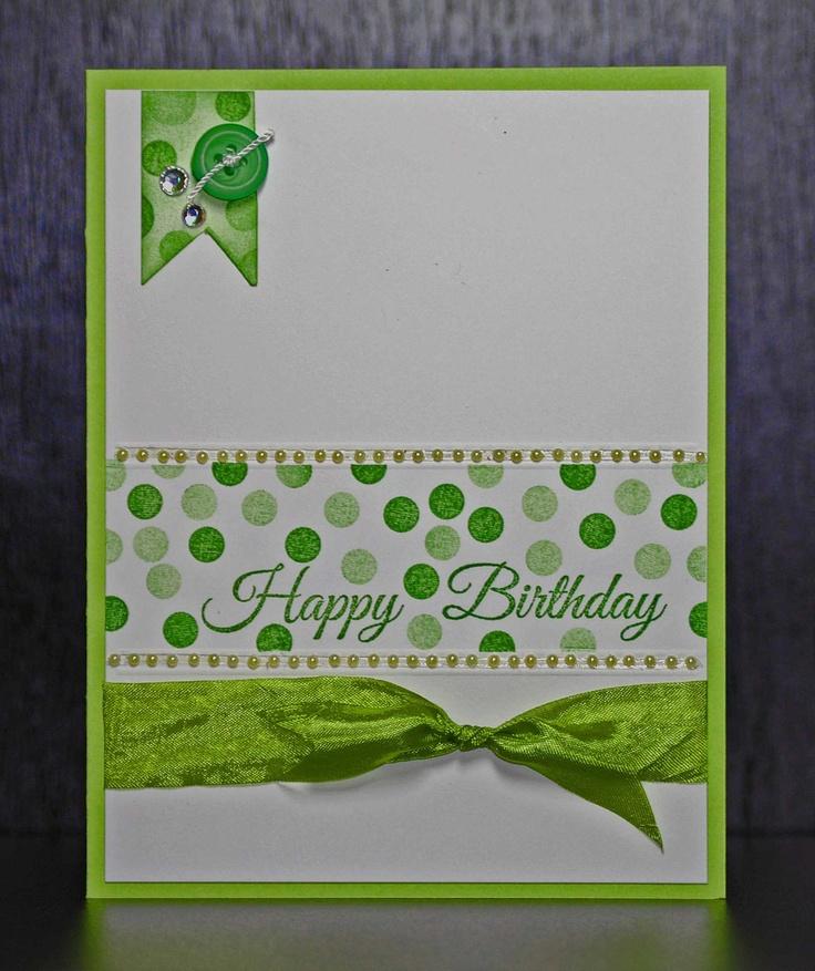 Custom Handmade Cards for ALL Occasions. $5.00, via Etsy.