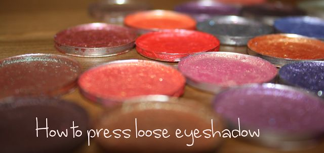 Hantastic Beauty: DIY: How to press loose eyeshadow and pigments