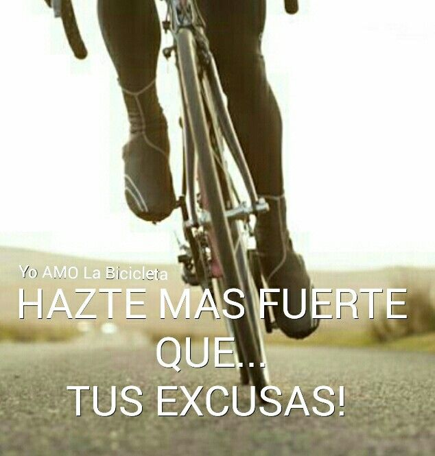 No excusas!