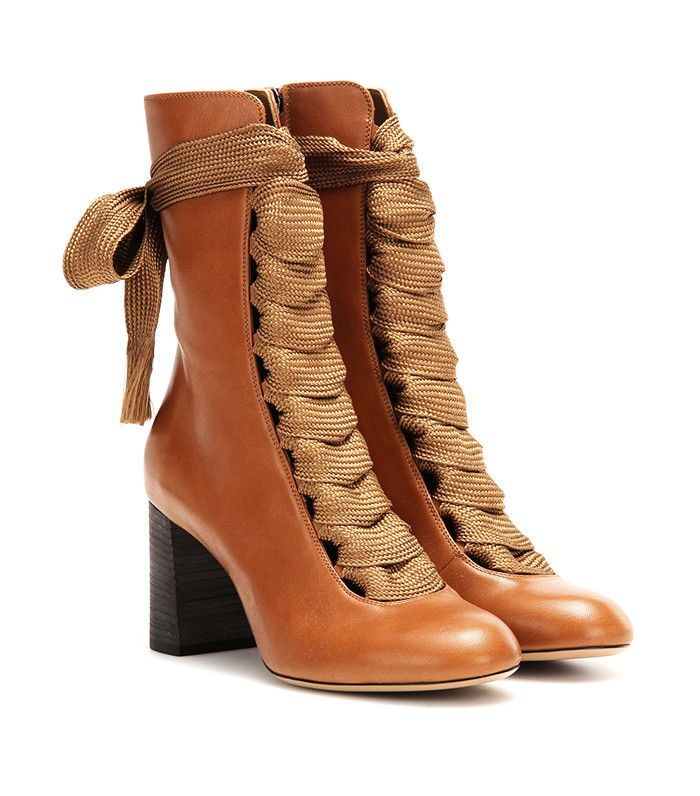 Chloé Harper Leather Boots
