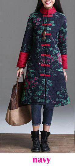 Новое поступление 2015 женщин платье зимний офис комфортабельный и супер теплый конопли китайский традиционный стиль купить на AliExpress