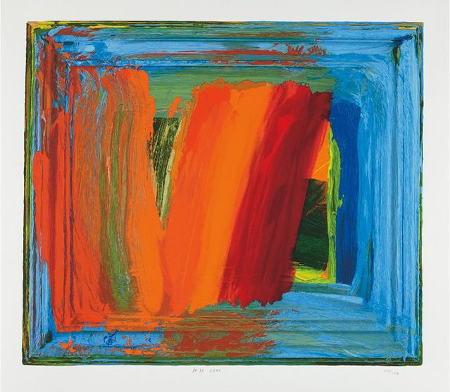 Howard Hodgkin | Bamboo (2000) | Available for Sale | Artsy
