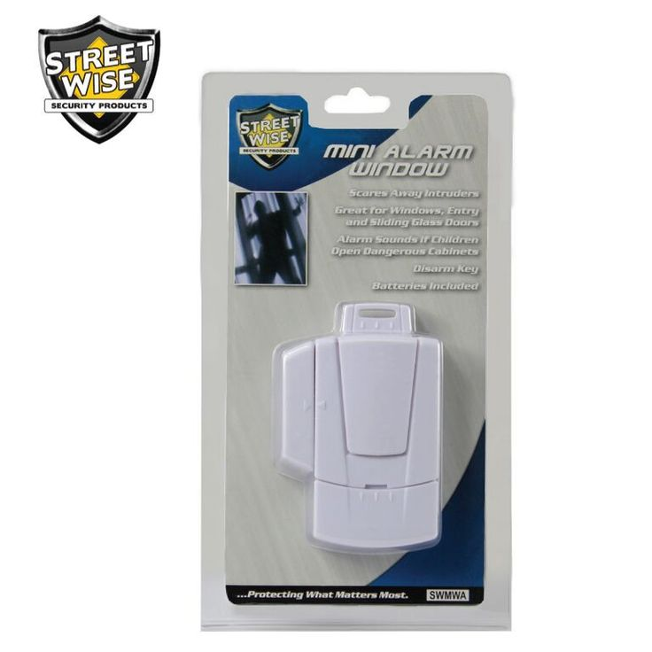 Streetwise Mini Window Alarm - NuMercy.com