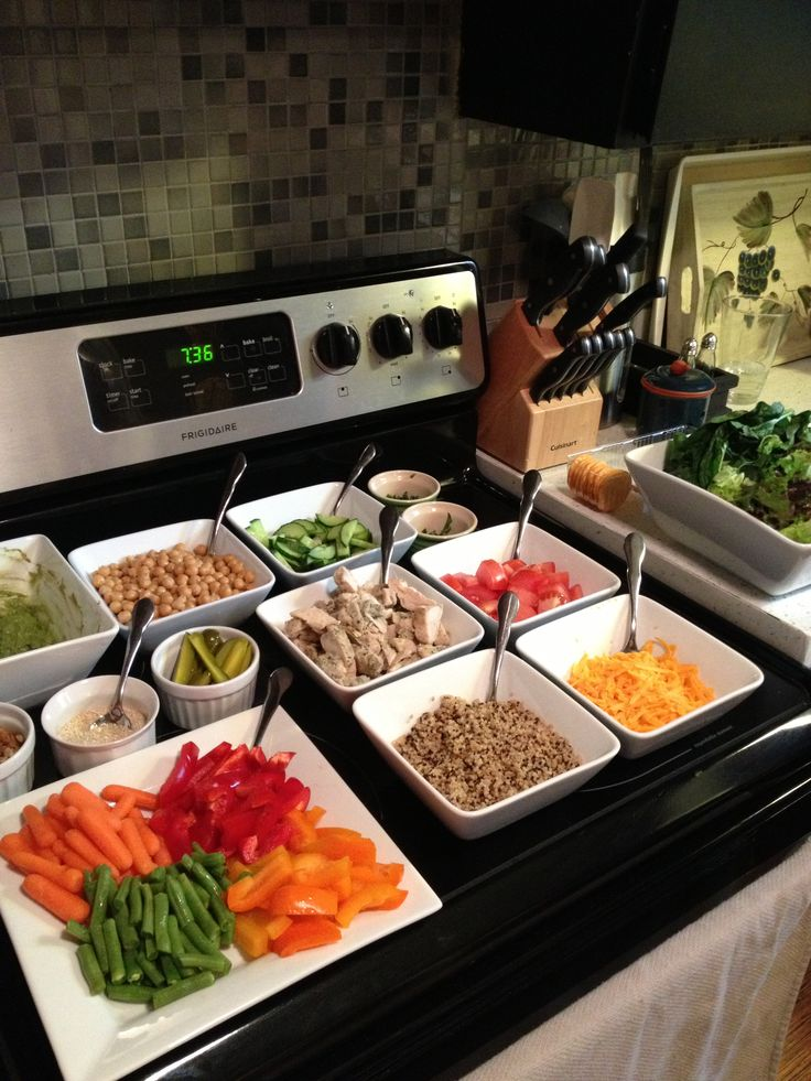 17 best ideas about salad bar on pinterest healthy salad for Salas ideas