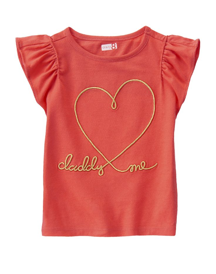 Daddy Heart Me Tee at Crazy 8 (Crazy 8 6m-5Y)
