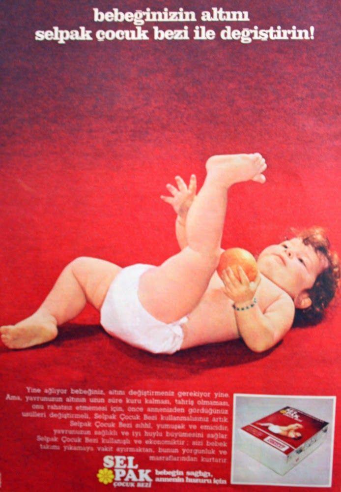 OĞUZ TOPOĞLU : selpak çocuk bezi 1975 nostaljik eski reklamlar 2