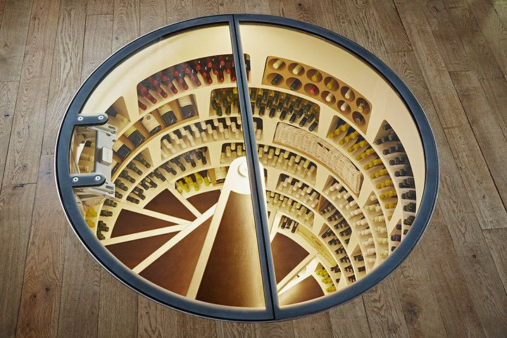 Love wine but can't find a fresh spot in your home to store your collection? United Kingdom-based company Spiral Cellars can solve this problem for you. The company is well known for its dynamic wine cellars, like this underground beauty that be installed in your ground floor.