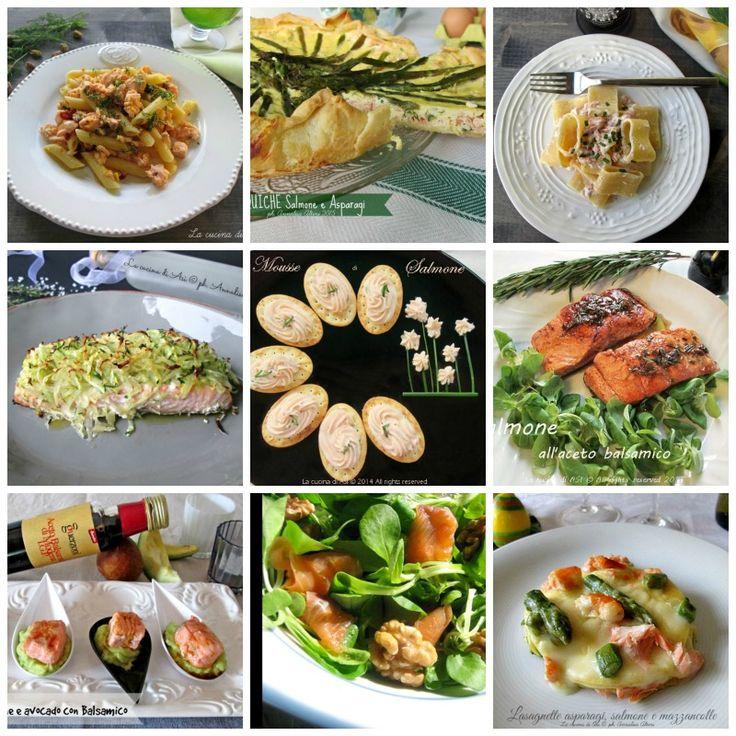 Il salmone è un pesce buonissimo e sano con cui preparare tantissime ottime ricette dall'antipasto a secondi prelibati Ricette con il salmone