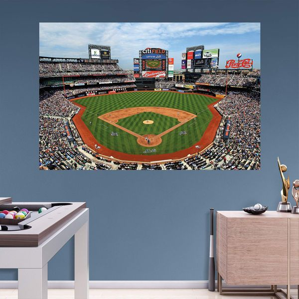 New York Mets Fathead Stadium Mural Wall Decal   $99.99 Part 47
