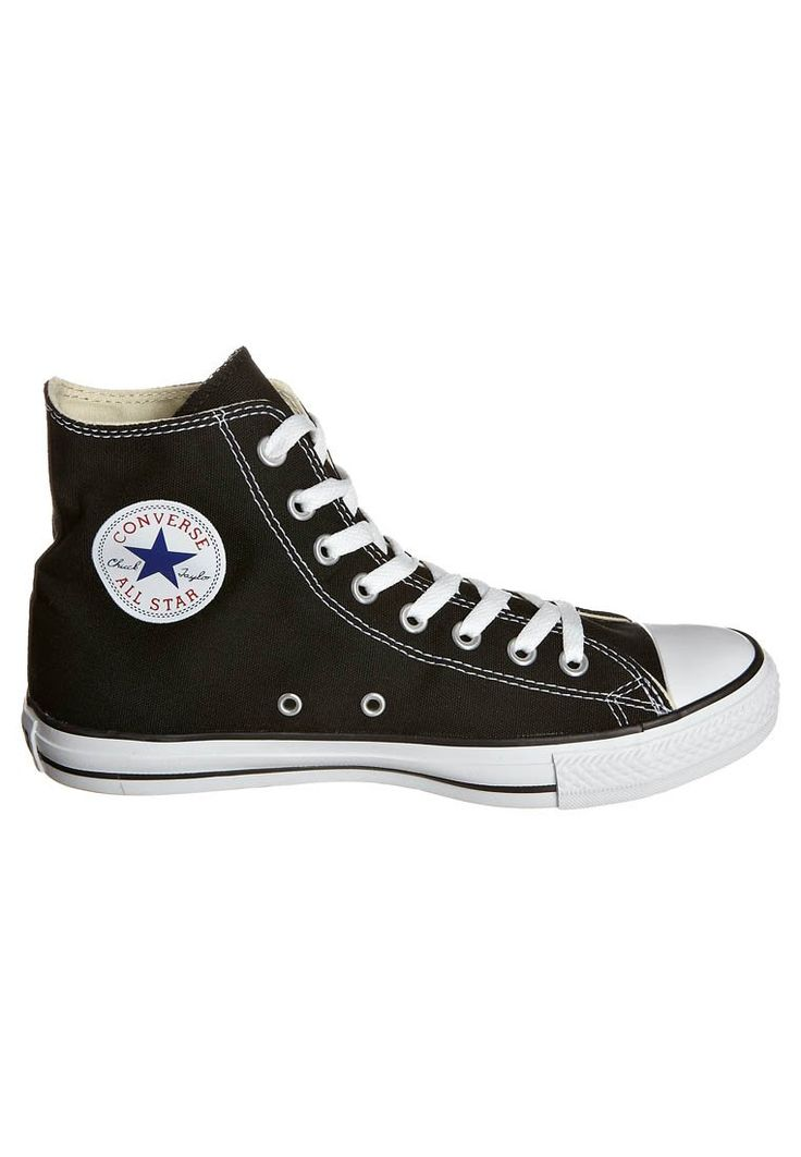 CHUCK TAYLOR ALL STAR - Sneaker high - black. Zalando, Schuhe, Converse ...