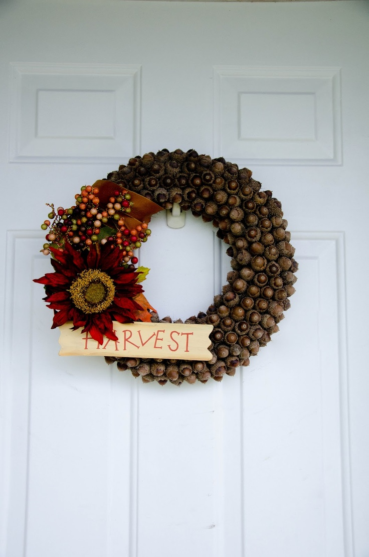 The Real Housewives Of Riverton Fall Acorn Wreath