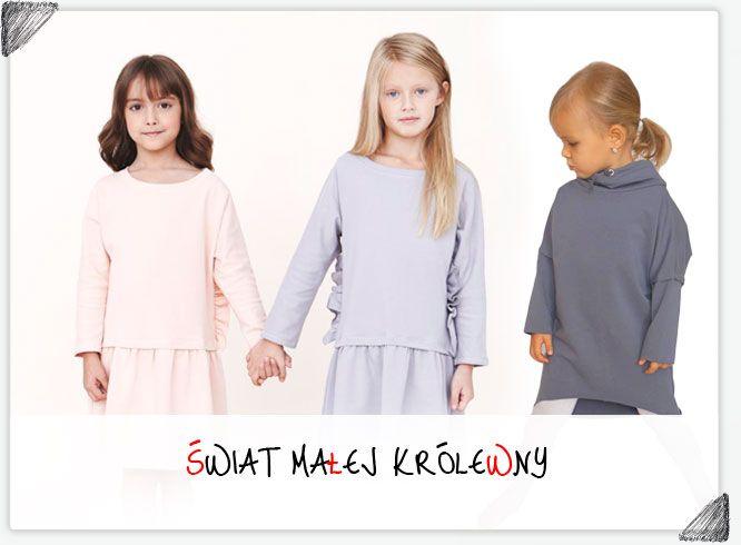 Pola & Frank oraz Maybe4Baby - polecane ubranka dla małych księżniczek z naszej oferty!