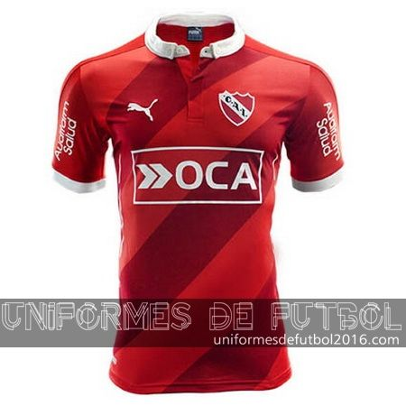 Jersey local para uniforme del Tailandia Independiente 2016-17 | uniformes de futbol economicos
