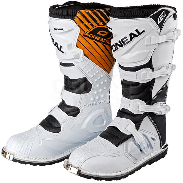 2015 ONeal Rider Boots - White