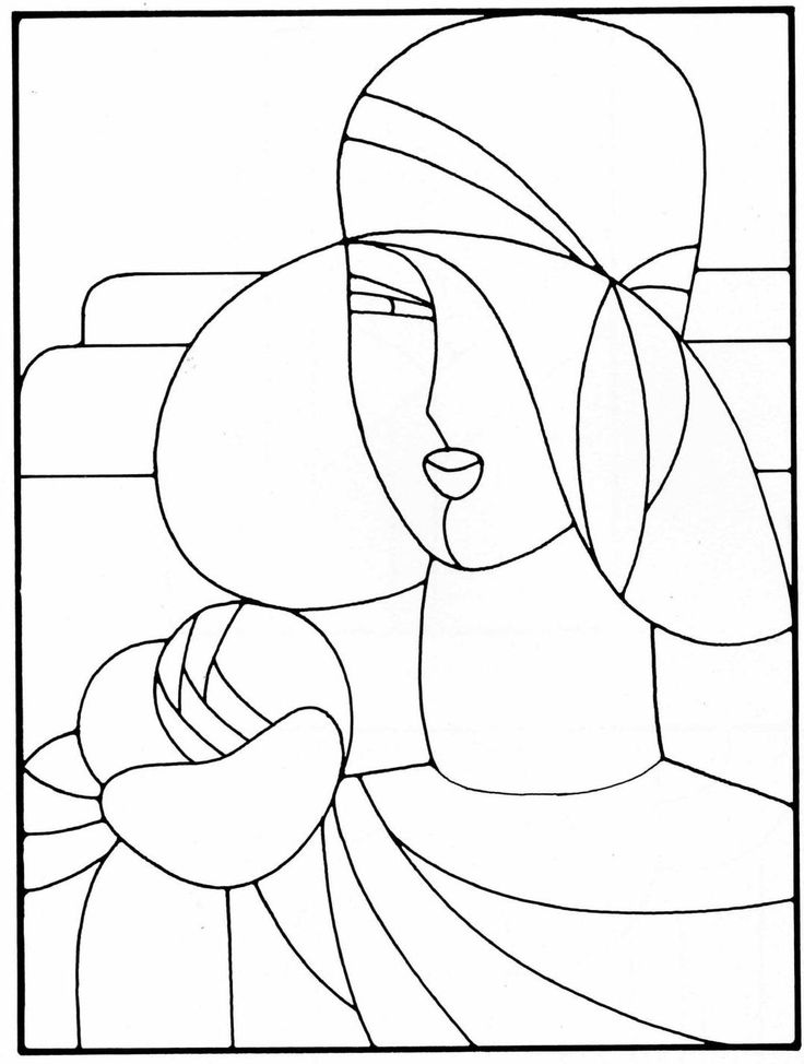 1790 best stain glass patterns
