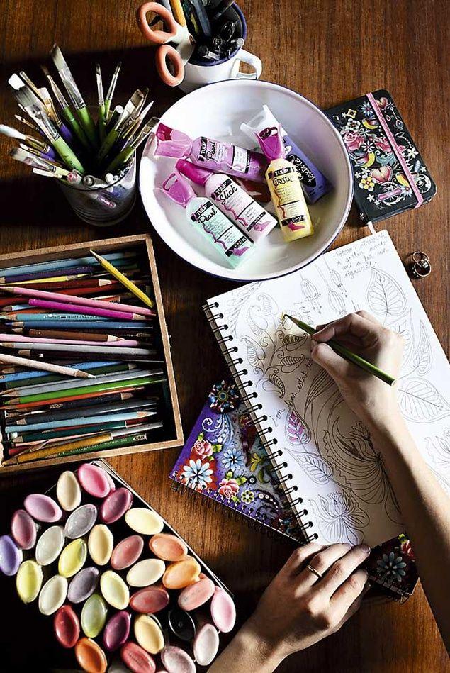 my weakness... LOL.. art supplies