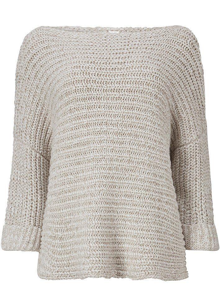 Sweater sand meleret 22402 Cape - 984 champaign