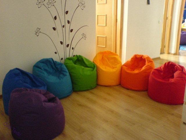 Babzsákfotelek | Gyerek babzsák fotelek | Gyerek babzsák fotel- egyszínű | www.ovistextil.hu