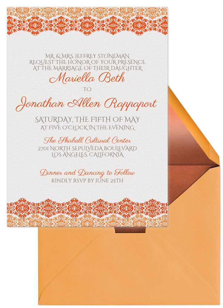 Fall In Love With A Wedding Invitation From Evite. Choose From Dozens Of  Free Digital