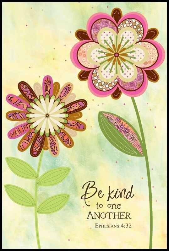 be kind to one another sayings pinterest